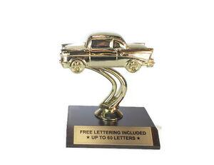 Car-Trophy-039-57-Chevy-Vintage-Cruisin-039-Desktop-Series-Free-Lettering