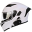 New-Motorcycle-Helmet-Flip-Up-Modular-Motobike-Bluetooth-Helmet-1200-mAh-battery miniature 10