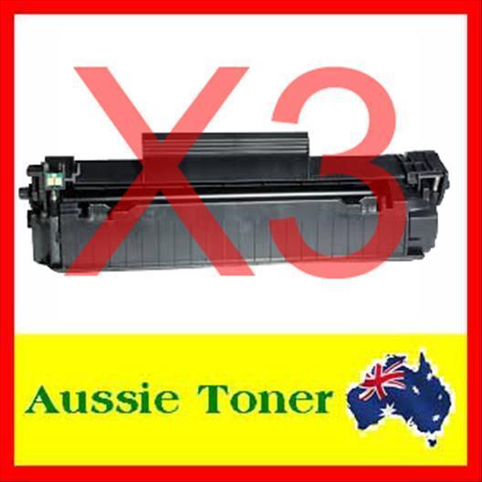 3x TONER CF283A 83A HP LaserJet PRO M201 M225 MFP M125 M127fn M127 M125nw