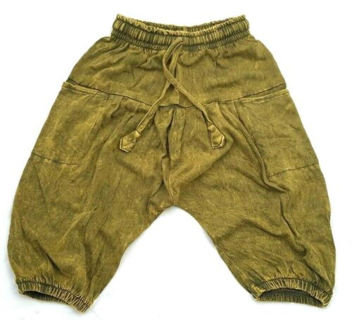 Fairtrade Childrens Kids Stretchy Harem Trousers Girls//Boys Hippie Clothes Baby
