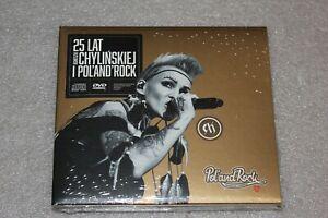 25-lat-Agnieszki-Chyli-skiej-i-Pol-and-Rock-CD-DVD-NEW-SEALED-CHYLINSKA