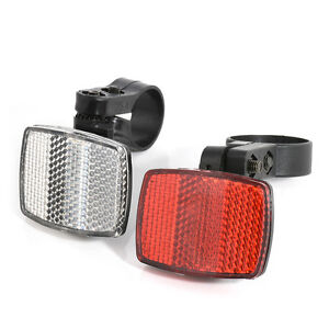 Cycle Bike Bicycle Reflector Light Reflective Road Strips Stick Front Rear Tool