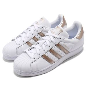 adidas-Originals-Superstar-W-White-Rose-Gold-Women-Classic-Shoes-Sneakers-CG5463