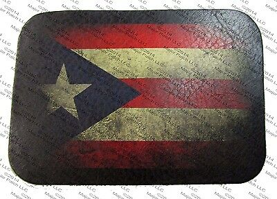 Puerto Rico USA American Flag Embroidered Patch IVAN1265 F2D19F