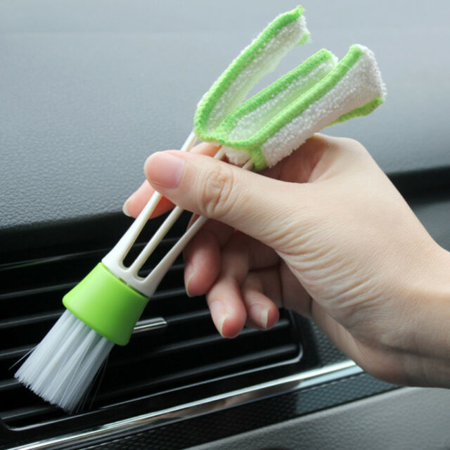 Office Car Auto Air Outlet Vent Dashboard Dust Cleaner Cleaning Soft Brush Tool