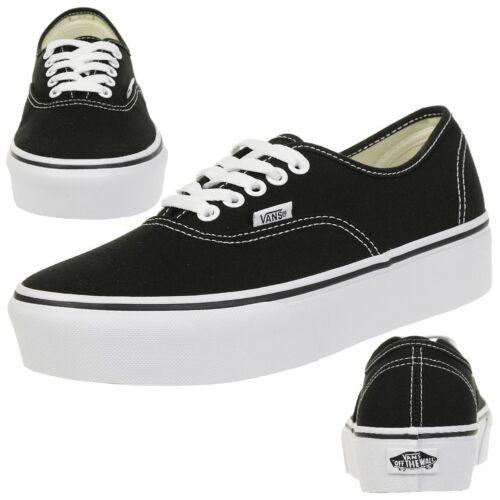 Plate Forme Noir Classique De Chaussures Vans Chaussure Skate zpSqUMV
