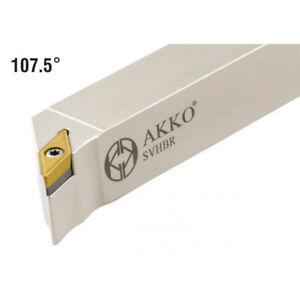 Akko-Drehhalter-Svhbr-2020-K11-20x20-mm-Iso-Plaquettes-Vbmt-1103-Neuf