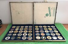 "50 Colorized U.S. ""State SEAL Quarter SET""- 1999-2008 = Each States Seal Logo"