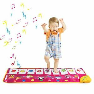Baby-Piano-Tappetino-Tappeto-per-1-2-3-anni-bambino-da-palestra-attivita-gioco-giocattoli-musicali