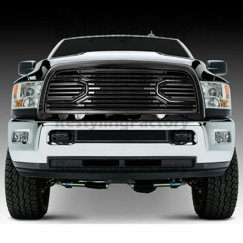 1017 Dodge RAM 2500+3500 Replacement Big Horn Black Packaged Grille+Black Shell