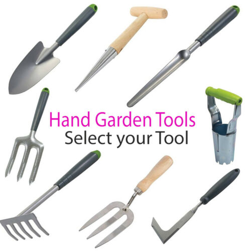 Fleur Lit Planters Truelles râteaux Forks extirpateur Main de Jardin Allotment Outils