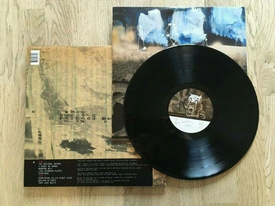 LP, Radiohead, I might be wrong