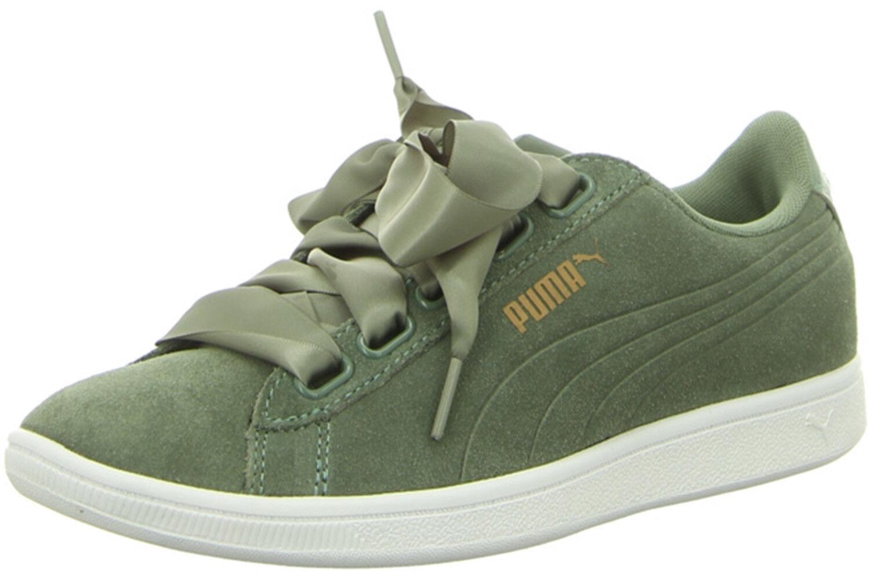 zapatillas puma mujer charol verde