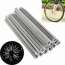 36pcs Bike Cycling Bicycle Wheel Spoke Reflector Reflective Mount Clip Tube NEW