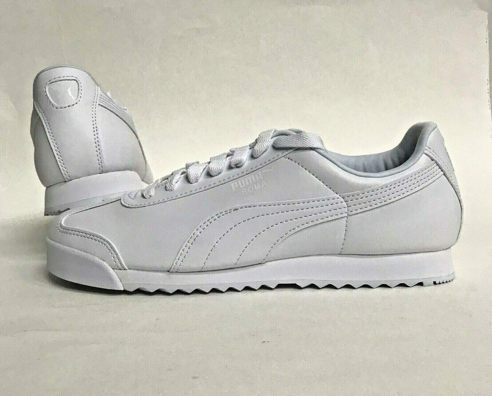 huge discount 61eb8 30742 Men's PUMA SIZE ROMA BASIC sneakers WHITE 353572-21 10 NIB nudtfu222 ...