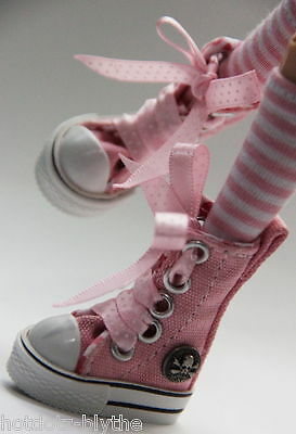 Custom Sneakers Shoes For Blythe/ Pullip/Monster High/Lalaloopsy/Dal - SN306, PK