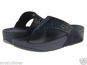 f921180f57ba Image is loading FITFLOP-FLARE-WOMEN-039-S-THONGS-SANDAL-SUPERNAVY-
