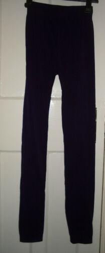WOMENS Stretchy Polyester//Spandex Petite Leggings One Sizes BNIB 8-12 Approx