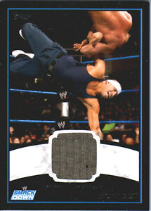 WWE-Hunico-2012-Topps-BLACK-BORDER-Event-Worn-Shirt-Relic-Card-50