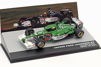 Luciano Burti Jaguar R2 #19 Brasilien Gp Formula 1 2001 1:43 Altaya