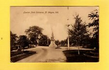 Fort Wayne,IN Indiana Lawton Part Entrance used 1908
