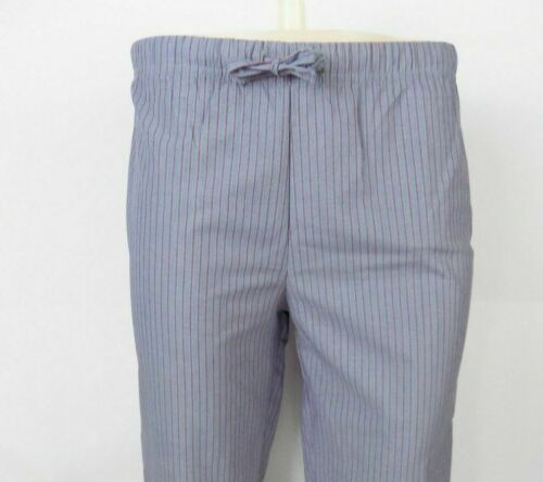 Mens Marks And Spencer M/&S Grey Pinstripe Cotton Pyjama PJ Bottoms S//M//L//XL NEW