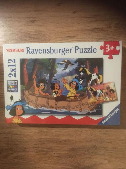 Ravensburger children-puzzle Games 2 x 12pcs yakaris Adventure