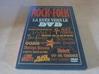 Metallica - Prince - Bowie - Alice Cooper - Black Sabbath - Hendrix French Dvd