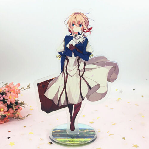 Anime Violet Evergarden Acrylic Stand Figure Decoration Standing Card Gifts