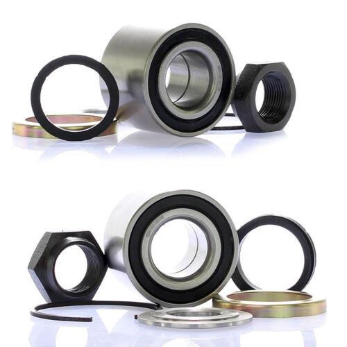 2x Radlagersatz Radlager Satz Hinten für Peugeot 106 206 306 Citroen Saxo Xsara