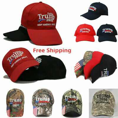 Make America Great Again Hat Donald Trump 2020 Republican Hat Cap Red Hot Red