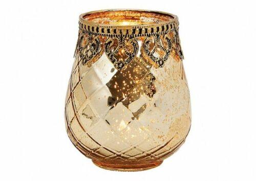 altura aprox oro 10cm Viento luz marruecos de vidrio//metal en orientalischem estilo