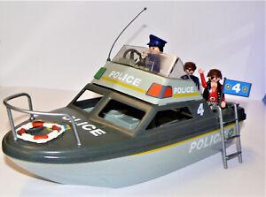 Playmobil Polizei Schiff
