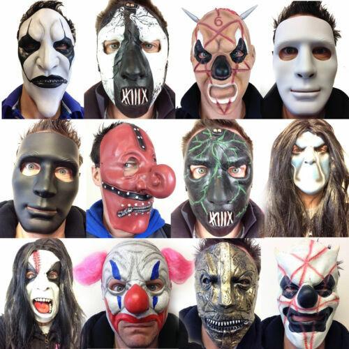 Maschera Da Uomo in Silicone per oggetti di scena di carnevale di Halloween A