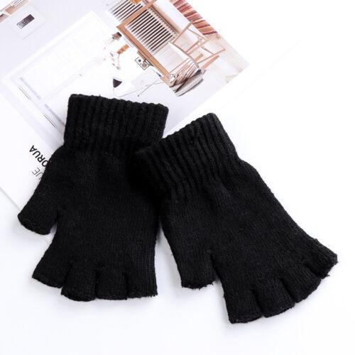 Typing//Texting Gloves Half Finger Gloves Wool  Knitted Fingerless Gloves