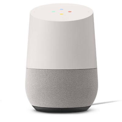 Google Home Smart Assistant Speaker Wi-Fi Streaming White Slate