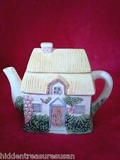 Thatched Roof Cottage Teapot