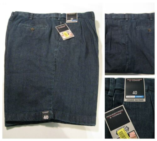 Men/'s Roundtree /& Yorke Travel Smart Exp Shorts 34 42 44 46 48 50 52 54 Ins 9/""