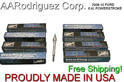 DRX00542 Diesel RX 00542 Glow Plug For 08-2010 Ford 6.4L Powerstroke Single