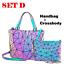 Geometric-Lattice-Luminous-Shoulder-Bag-Holographic-Reflective-Cross-Body-Bag thumbnail 35