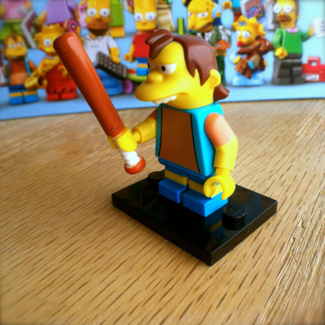 LEGO 71005 THE SIMPSONS Minifigures NELSON MUNTZ #12 SEALED Minifigs Series 1