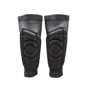 Absorption des Chocs Respirant Soccer Football Jambe Guards Protège-tibias Mollet Chaussettes