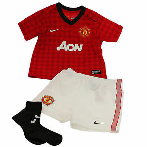 separation shoes e68c6 b96ee ... Nike-Manchester-United-Mini-Kit-Bebe-Enfant-en-