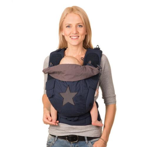 Bondolino Baby Babytrage Bauchtrage Rückentrage Komforttrage Slim-fit