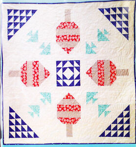 Details about CLEARANCE - Float - nautical design pieced quilt PATTERN -  Midcoast Cottage