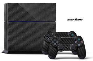 247 Skin Sony Ps4 Carbone Playstation Concepteur Wrap Autocollant Autocollant Wrap-afficher Le Titre D'origine 8rtfrcdy-07160439-547019069