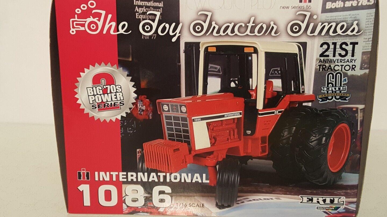 ERTL International 1086 1 16 DIECAST METAL Farm tracteur REPLICA DE COLLECTION