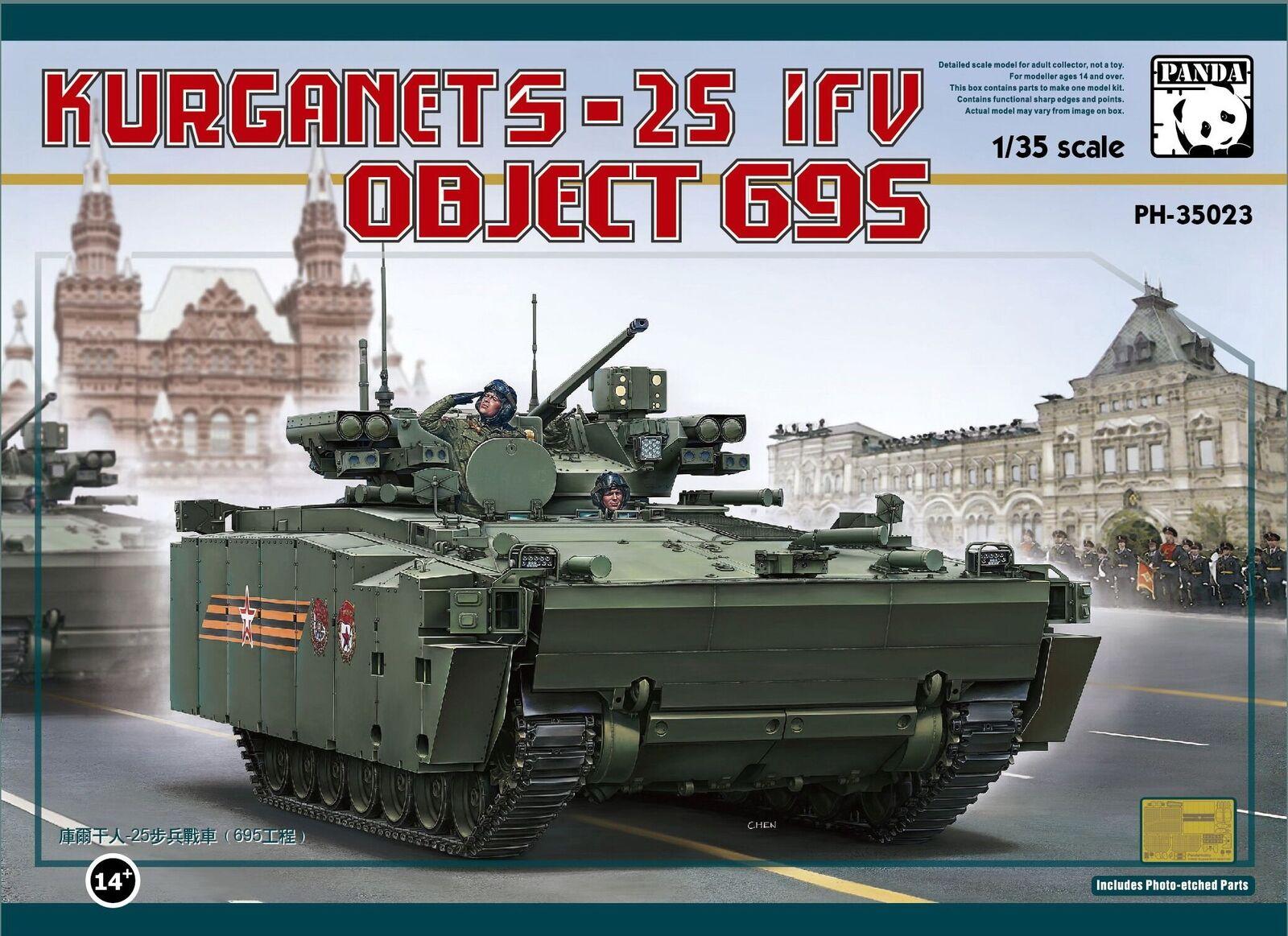 Panda Hobby 1 35 Russian Object 695 IFV Kurganets-25