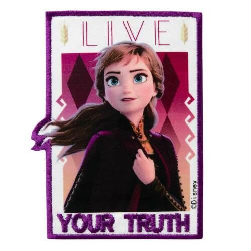 Frozen II Anna Elsa Olaf Eiskönigin 2 Applikationen Bügelbild Patch Aufnäher