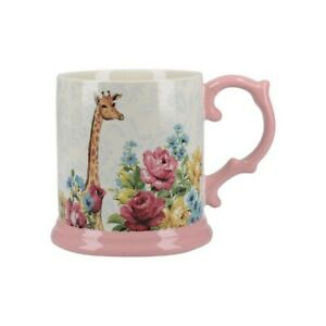 Creativtopes-Katie-amp-Alice-Blooming-Tasse-Fancy-Giraffe-Shabby-Kaffeetasse-Becher